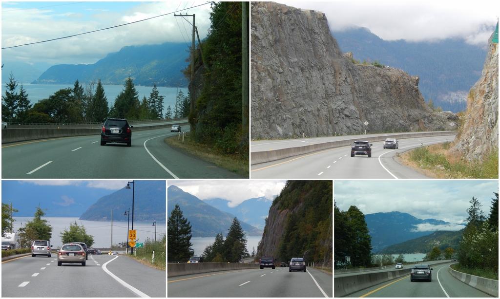 Onderweg Sea-to-Sky-Highway