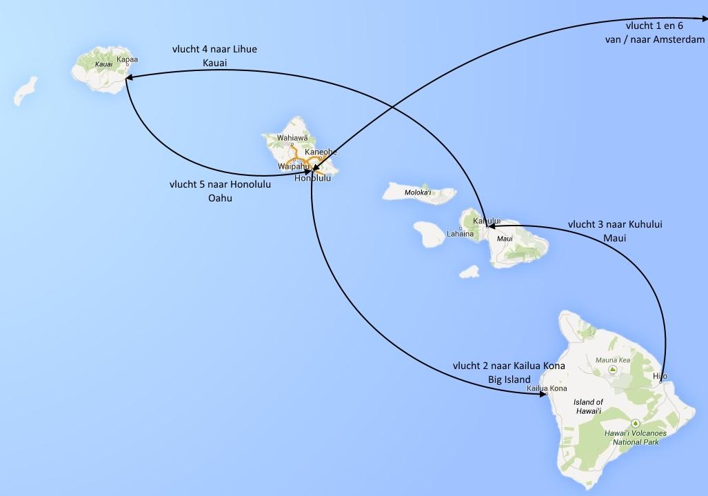 Hawaii-vluchten